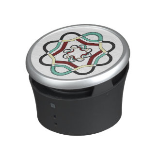 Dumpster Speaker MULTI-COLORED INTERTWINED LOGO