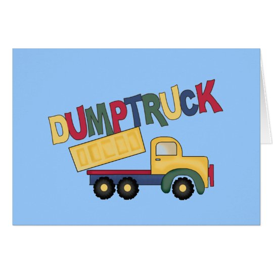 Dumptruck Tshirts and Gifts Card