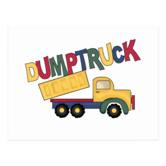 Dumptruck Tshirts and Gifts Postcard