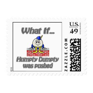 dumpty humpty fue empujada franqueo
