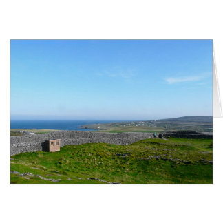 Dun Aengus, Aran Islands, Ireland Card