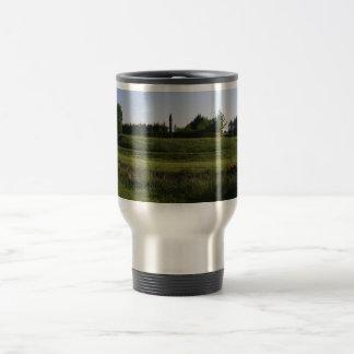 Dun Ailinne Monument At The Interpretative Park In 15 Oz Stainless Steel Travel Mug