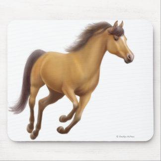 Dun Horse Galloping Mousepad