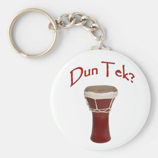 Dun Tek Red Keychain