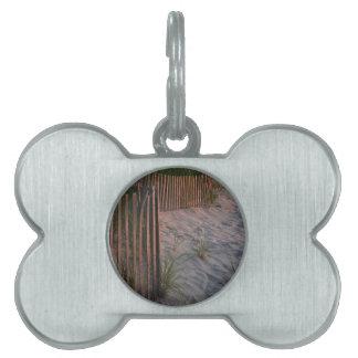 Duna de arena placas mascota