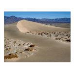 Dunas 1 de Death Valley Tarjeta Postal