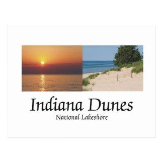 Dunas de ABH Indiana Tarjetas Postales