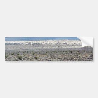 Dunas de arena de Death Valley del desierto Pegatina De Parachoque