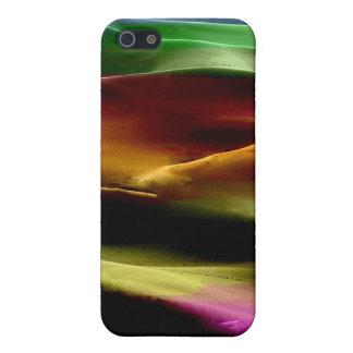 Dunas de arena de la pintura #10 de acrílico iPhone 5 fundas