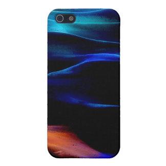 Dunas de arena de la pintura #12 de acrílico iPhone 5 carcasa