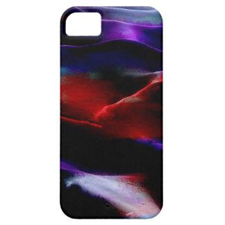 Dunas de arena de la pintura #7 de acrílico iPhone 5 funda