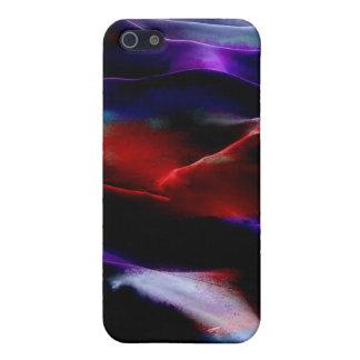 Dunas de arena de la pintura #8 de acrílico iPhone 5 fundas