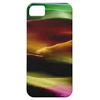 Dunas de arena de la pintura #9 de acrílico iPhone 5 fundas