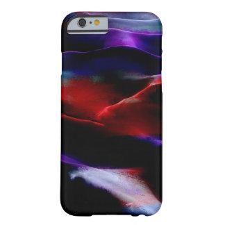 Dunas de arena de la pintura de acrílico funda de iPhone 6 barely there