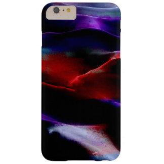 Dunas de arena de la pintura de acrílico funda de iPhone 6 plus barely there