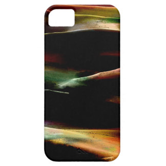 Dunas de arena de la pintura de acrílico iPhone 5 funda