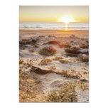 Dunas de arena de la playa de Malaquite Invitación 12,7 X 17,8 Cm