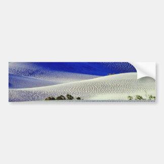 Dunas de arena de los desiertos 5 etiqueta de parachoque