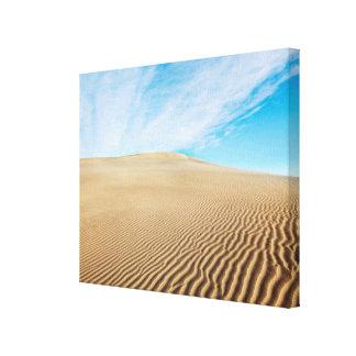 Dunas de arena de los planos del Mesquite Impresiones En Lienzo Estiradas