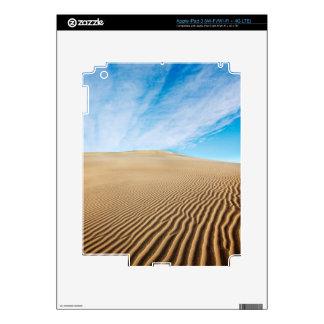Dunas de arena de los planos del Mesquite iPad 3 Pegatina Skin