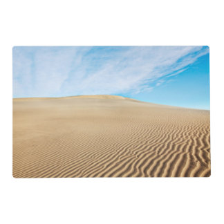 Dunas de arena de los planos del Mesquite Salvamanteles