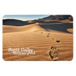 Dunas de arena del parque nacional de Death Valley Imanes Flexibles
