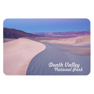 Dunas de arena del parque nacional de Death Valley Iman