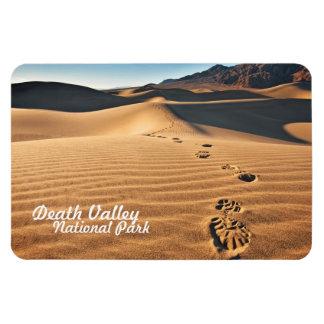 Dunas de arena del parque nacional de Death Valley Imanes Rectangulares