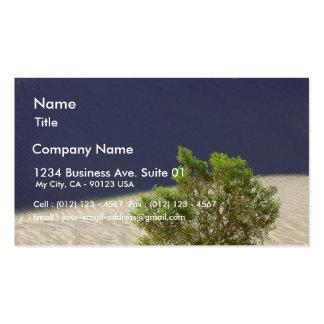 Dunas de arena en día del desierto tarjetas de visita