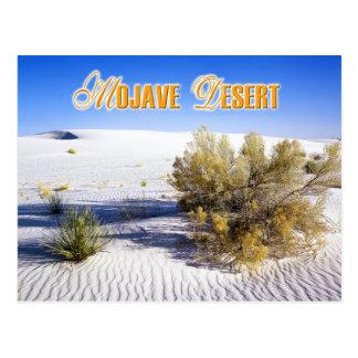 Dunas de arena en el desierto de Mojave, Californi Tarjetas Postales