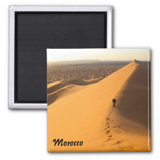 Dunas de arena en el imán de Marruecos