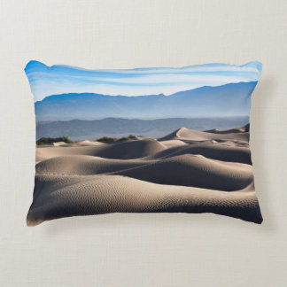 Dunas de arena planas del Mesquite Cojín Decorativo