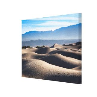 Dunas de arena planas del Mesquite Impresion De Lienzo