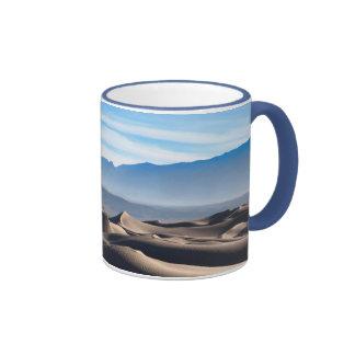 Dunas de arena planas del Mesquite Taza