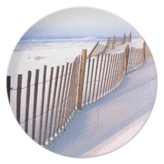 dunas de arena platos para fiestas