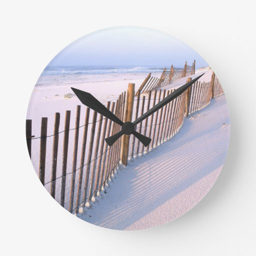 dunas de arena reloj de pared