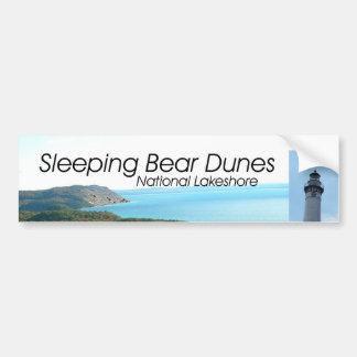 Dunas del oso el dormir de ABH Pegatina Para Auto