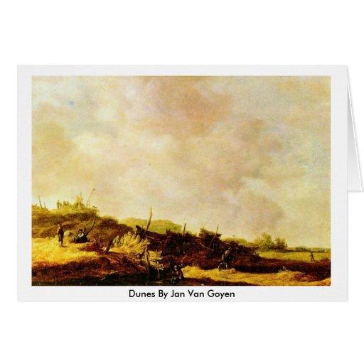 Dunas en enero Van Goyen Tarjeton