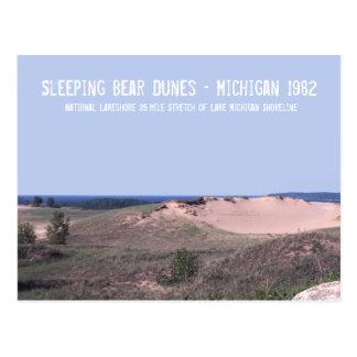 Dunas Michigan del oso el dormir Postales