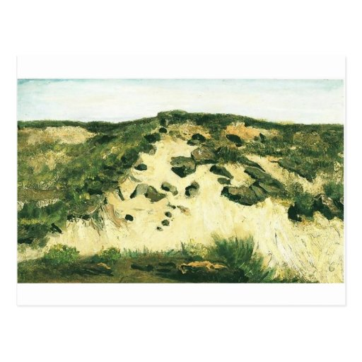 Dunas Vincent van Gogh Tarjeta Postal
