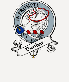 Dunbar Clan Badge Tshirt