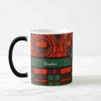 Dunbar clan Plaid Scottish tartan Magic Mug