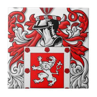 Dunbar Coat of Arms Tile