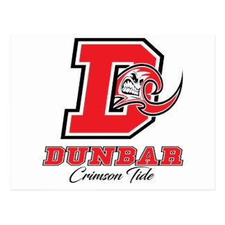 Dunbar Crimson Tide Pride Postcard