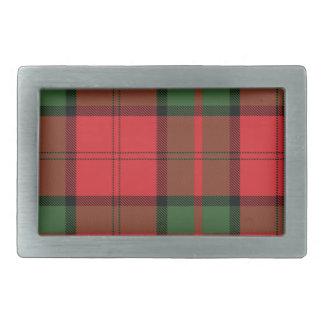 Dunbar Scottish Tartan Belt Buckle