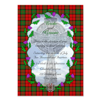 Dunbar Scottish Wedding Invitation