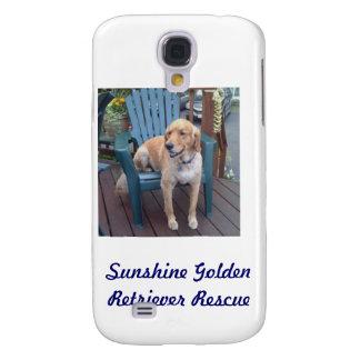 Dunbar - Sunshine Golden Retriever Rescue Case Samsung Galaxy S4 Case