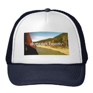 duncan booth trucker hat