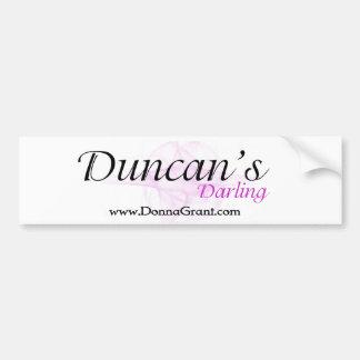 Duncan Bumper Sticker