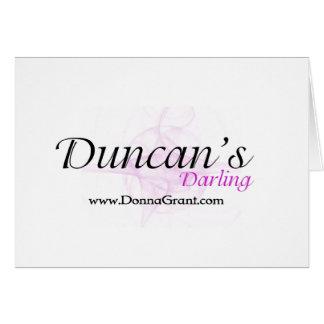Duncan Greeting Card